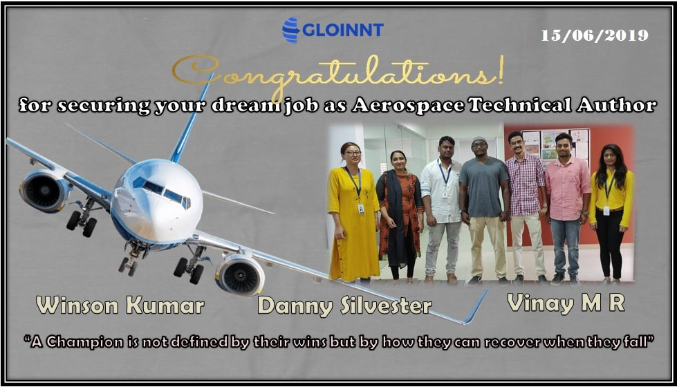 gloinnt placement technical publications training job bangalore